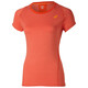 asics Top - T-shirt course à pied Femme - rouge